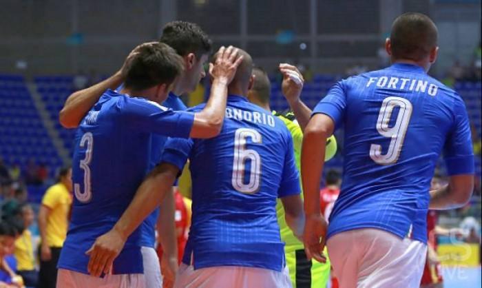 Calcio a 5, Mondiale Colombia - Italfutsal, Vietnam battuto e primo posto nel girone