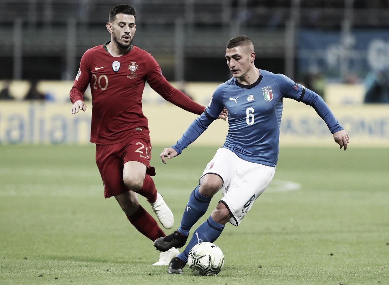 Portugal empata sem gols contra Itália e classica às semifinais da Liga das Nações