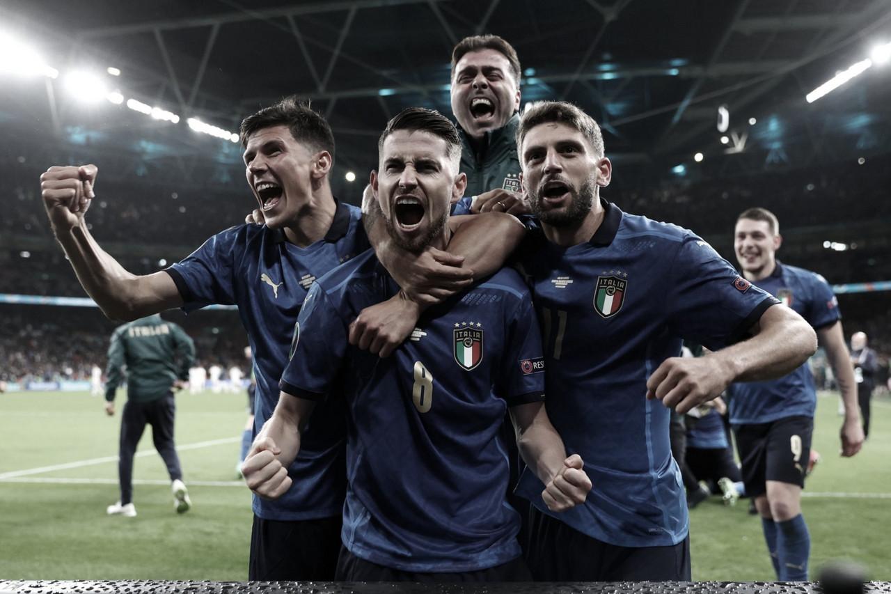 Italia se hace fuerte en los penales y jugará la final