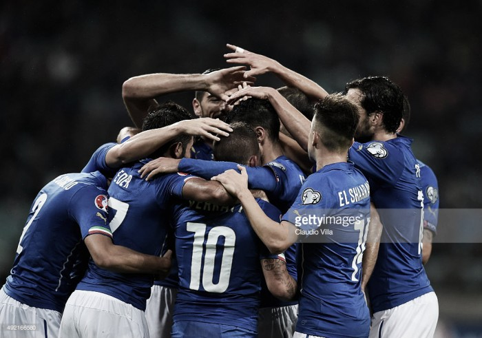 A caminho do Euro: Seleção da Itália