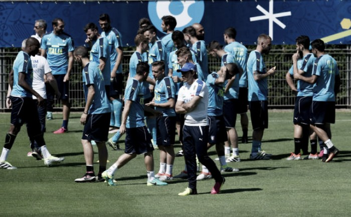 Euro 2016, Italia al lavoro. Candreva torna ad allenarsi con il gruppo