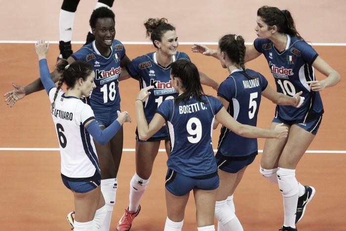 Itália vence favorita China e enfrenta Brasil na decisão do Grand Prix