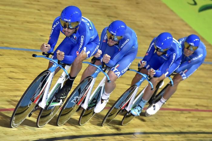 Olimpiadi: Nazionale maschile di inseguimento su pista ammessa a Rio 2016