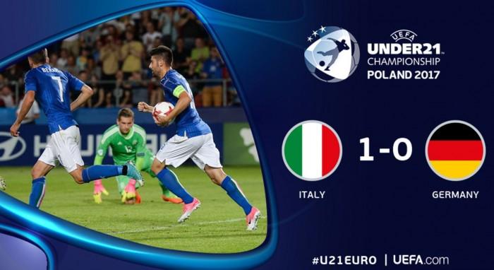 Euro Under 21 Italia - Germania 1-0, Bernardeschi (e la Danimarca) ci portano in semifinale