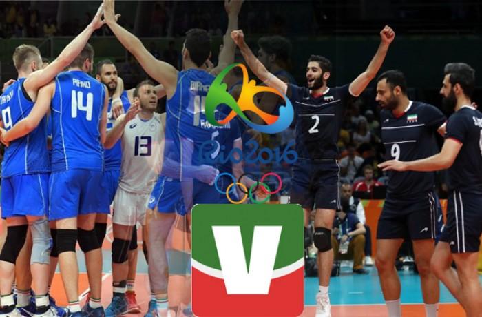 Diretta Rio 2016 in Volley: Italia - Iran, ci si gioca un posto in semifinale (3-0)