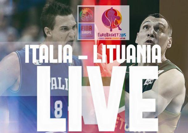 Risultato Italia - Lituania, EuroBasket 2015 (85-95)
