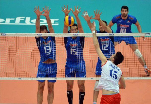 L'Italia maschile di pallavolo scivola al quinto posto del ranking Cev