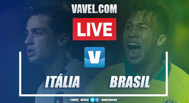 Gols e melhores momentos de Itália 0x2 Brasil pela Copa do Mundo Sub-17 2019
