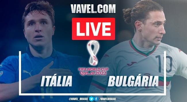 Gols e melhores momentos Itália x Bulgária pelas Eliminatórias da Copa do Mundo (1-1)