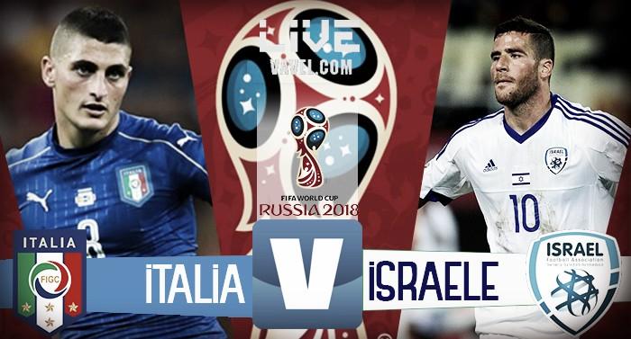 Italia - Israele terminata, LIVE qualificazioni Mondiali 2018 (1-0): Decide il gol di Immobile