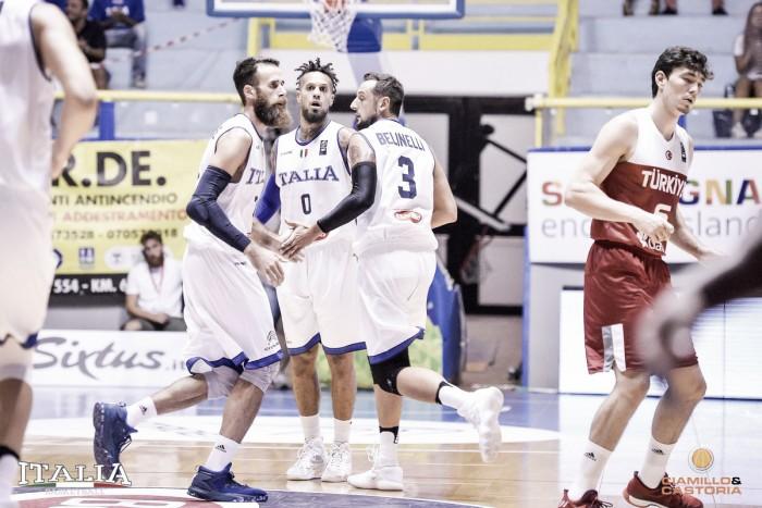 L'Italia finalmente c'è: Turchia asfaltata a Cagliari (73-53)