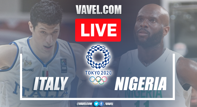Highlights and Best Moments: Italy 80-71 Nigeria in Tokyo 2020