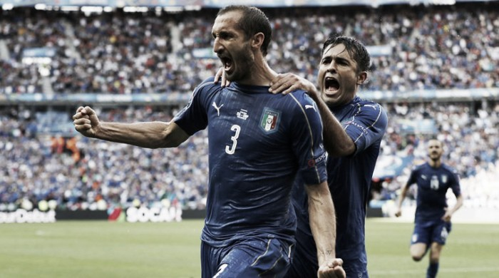Italy 2-0 Spain: Defending champions crash out as Conte's tactics prevail