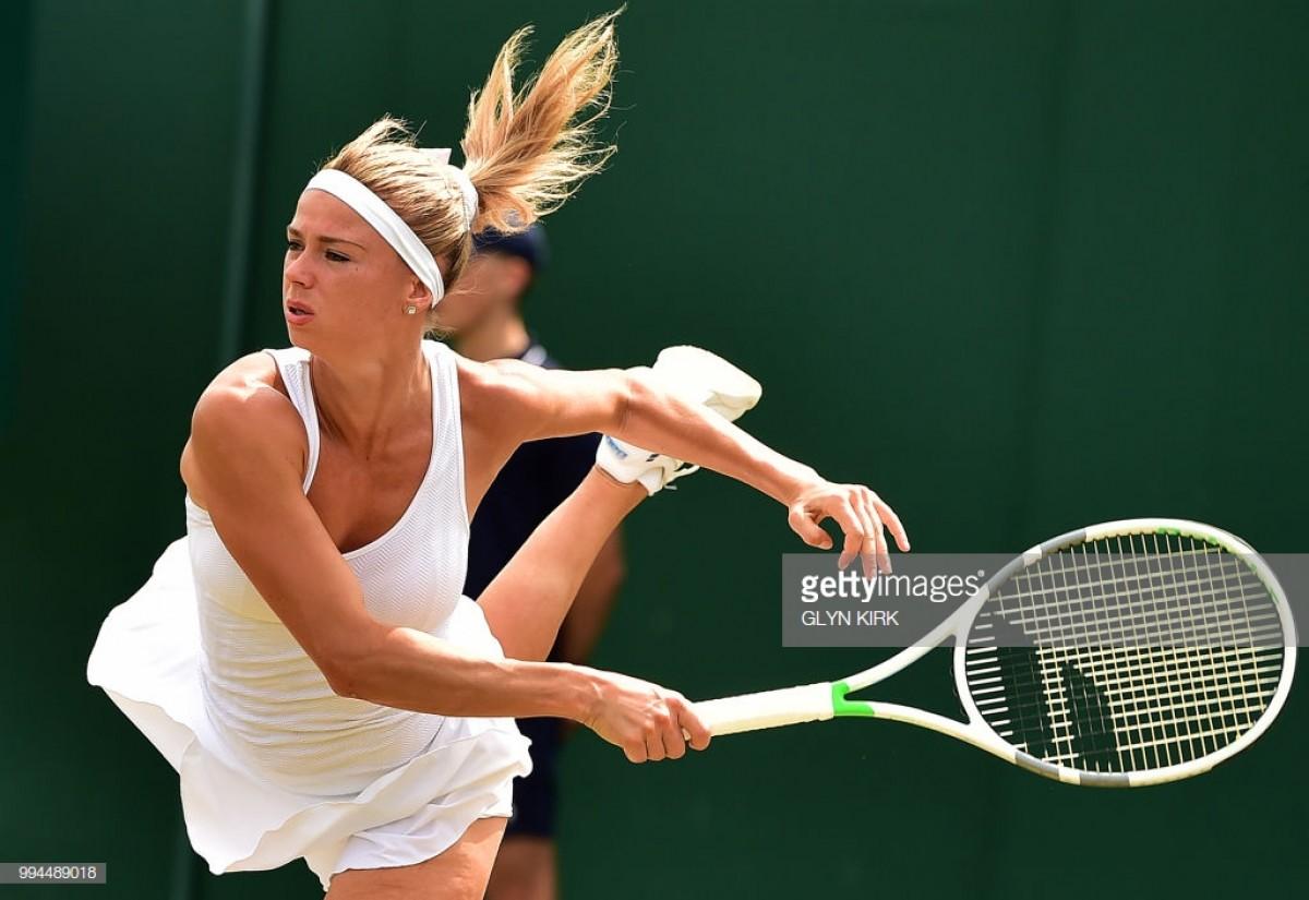 2018 Wimbledon: Camila Giorgi storms past Ekaterina Makarova for quarter-final berth