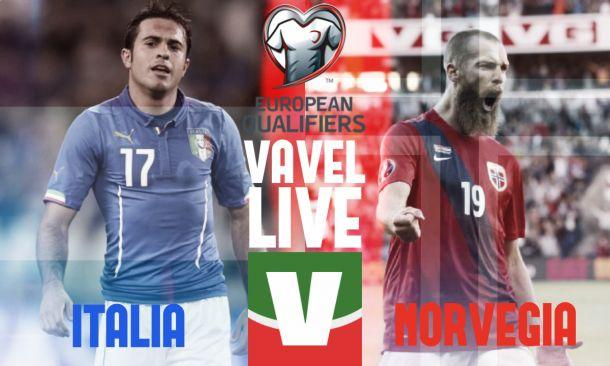 Italia - Norvegia (2-1), risultato partita Qualificazioni Europei 2016