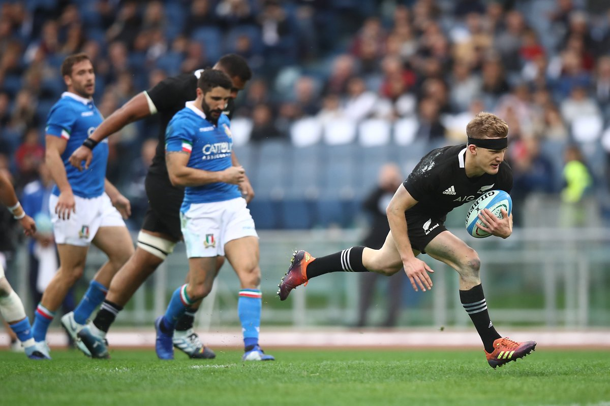 Test match: Imbarcata annunciata e Italia battuta. 66-3 per gli All Blacks
