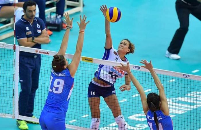 Volley F - Per l'Italia sconfitta indolore contro la Serbia: semifinale del World Gran Prix già in cassaforte