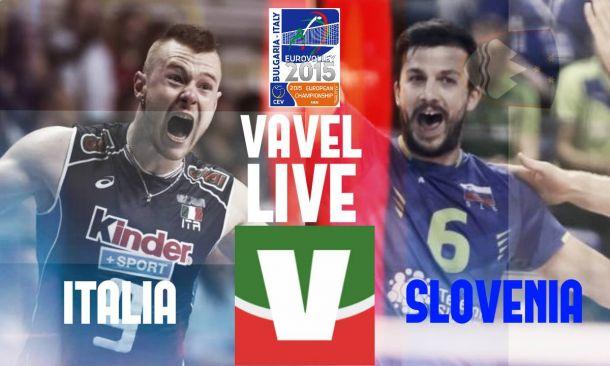 Risultato Italia - Slovenia in semifinale Europeo Volley 2015 (1-3: 13-25, 25-23, 20-25, 20-25)