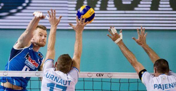 L'Italia toppa, la Slovenia merita la finale di Eurovolley 2015