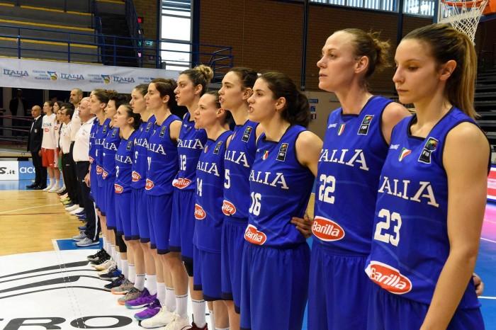 Eurobasket 2017, Italia femminile - Ci siamo: oggi l'esordio con la Bielorussia