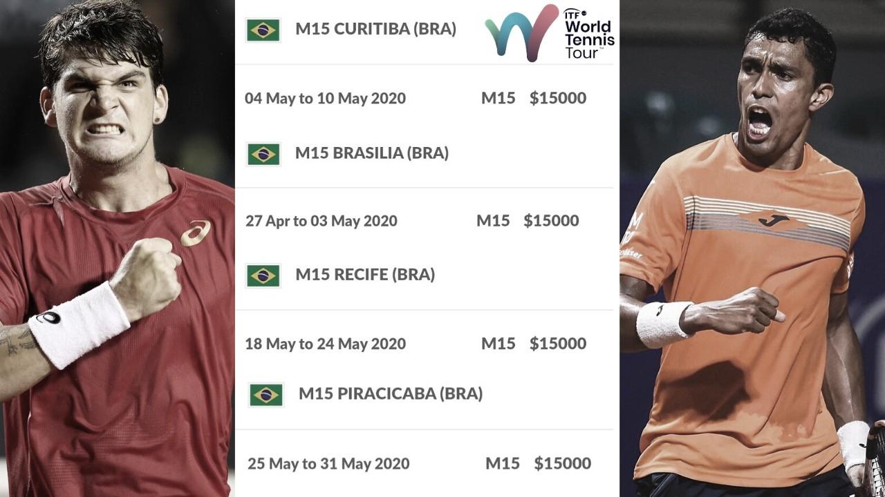 ITF confirma quatro torneios Future no Brasil