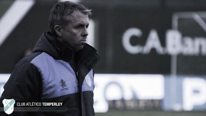 """Álvarez: """"Contra Talleres hay que mejorar el manejo de la pelota"""""""