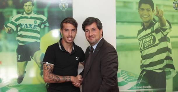 Sporting renova contrato de Iuri Medeiros até 2019