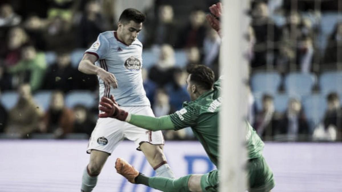 Celta de Vigo - Málaga CF: Puntuaciones del Celta, jornada 29 de la Liga Santander