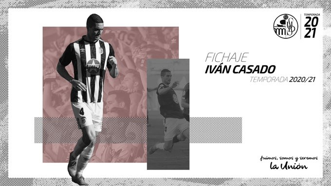 Iván Casado es el segundo refuerzo invernal del Salamanca CF
