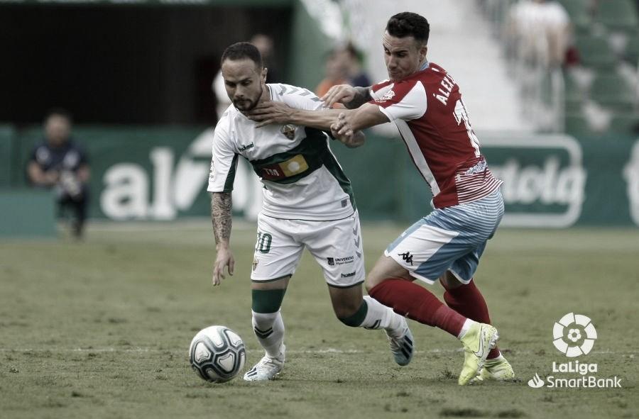 Imagen del enfrentamiento entre ambos conjuntos | Fuente: La Liga