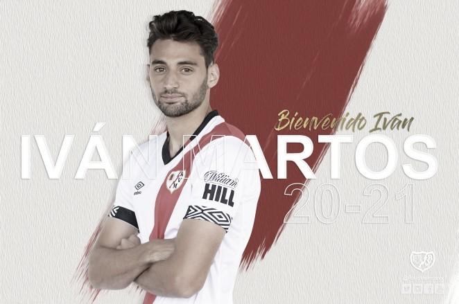 Iván Martos, nuevo jugador del Rayo Vallecano