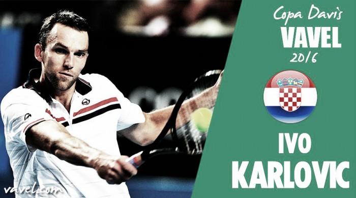 Copa Davis 2016: Ivo Karlovic, la veteranía al servicio de Croacia