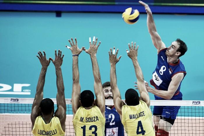 Seleção da Liga Mundial tem MVP sérvio e dois brasileiros