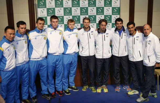 Coppa Davis, Kazakistan - Italia: apre Bolelli, poi Seppi
