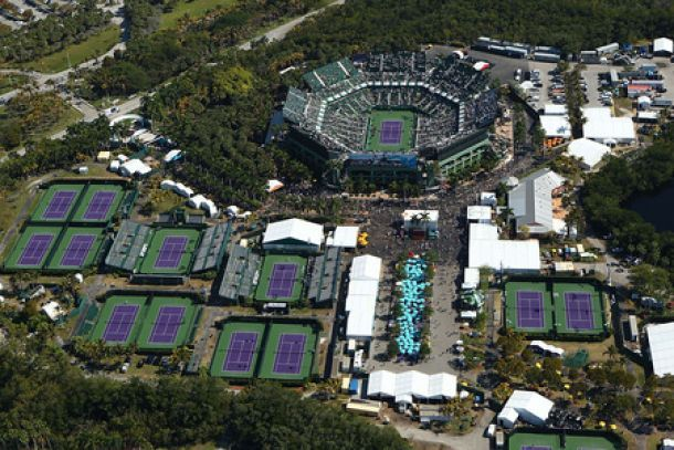En Miami, inicia el segundo Masters 1000 de la Temporada con las figuras del tenis mundial presentes