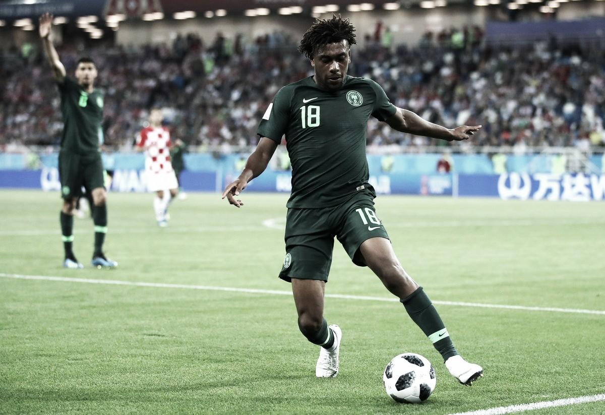 Iwobi, de más al banquillo en la derrota de Nigeria