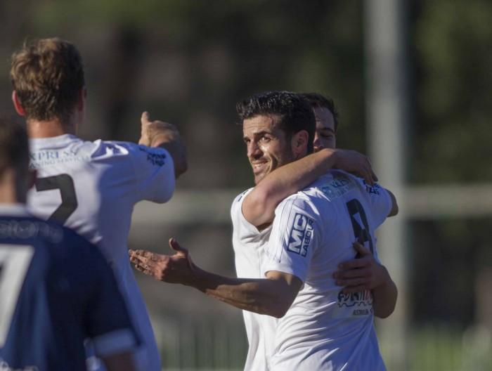 Primer gol de Vitaka Rodriguez con el St Albans Saints