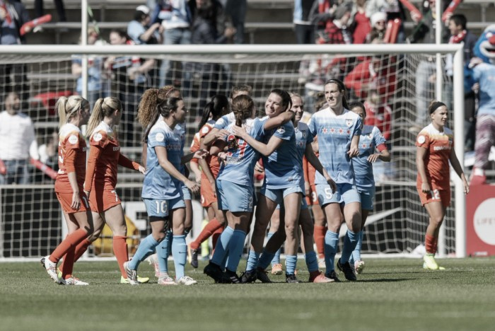 Julie Ertz goal helps Chicago Red Stars down Houston Dash 2-0