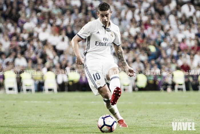 Resumen Real Madrid 2016/17: James Rodríguez, la temporada de la discordia