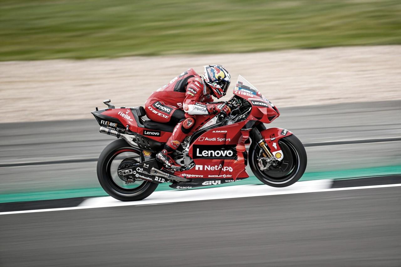 Día positivo en Silverstone para Ducati Corse