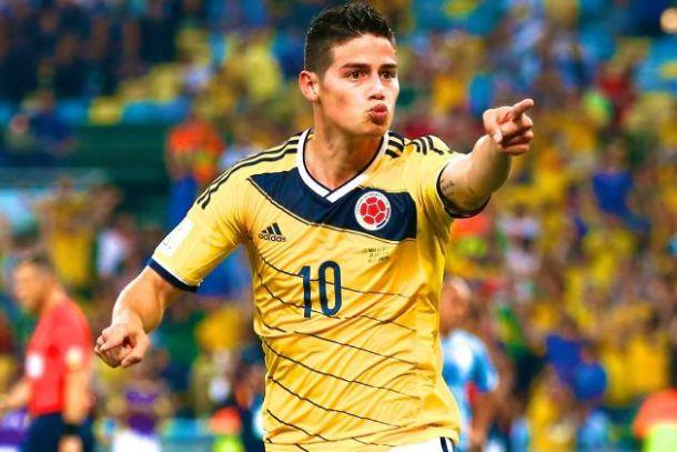 James Rodríguez hoping to emulate Di María
