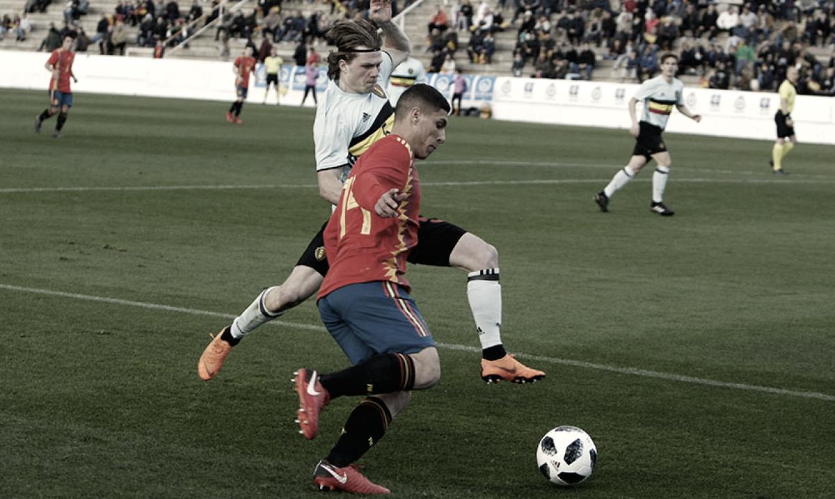 Resumen España vs Francia Clasificación Europeo sub-19 2018 (2-4)