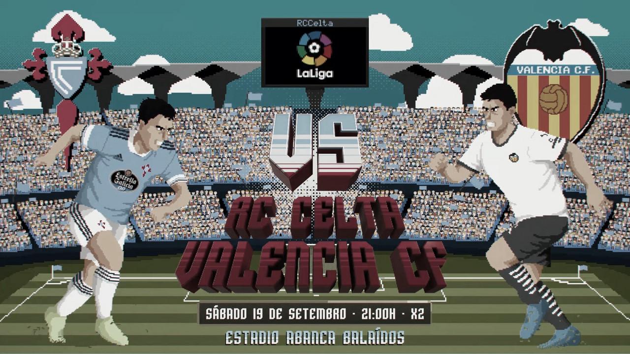 Previa RC Celta - Valencia CF: Choque de titanes en Balaídos