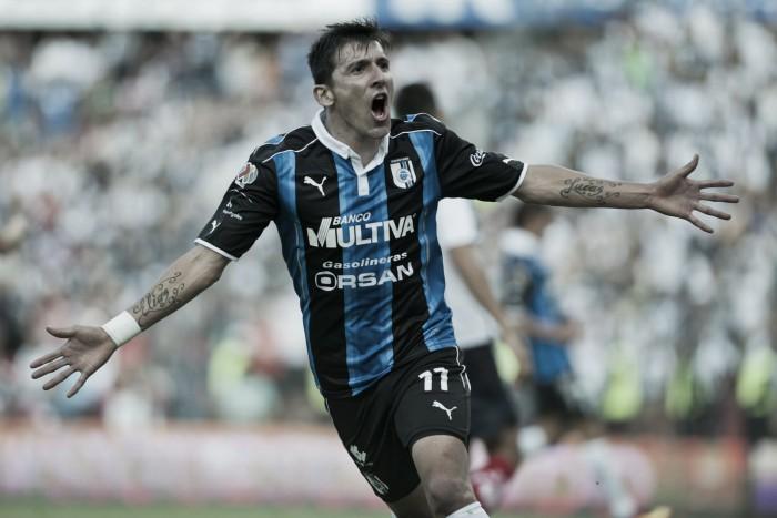 """Edgar Benítez: """"Era fundamental la victoria"""""""