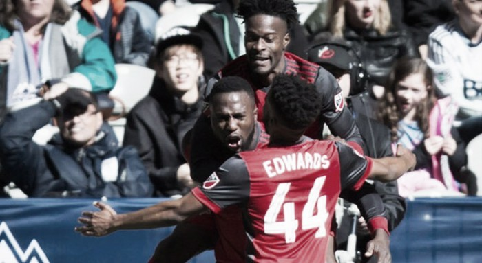 Toronto FC win against the Vancouver Whitecaps as Brek Shea sees red