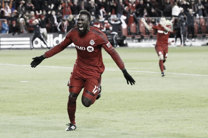 Audi 2016 MLS Cup Playoffs: Late heroics see Toronto FC pick up the win against New York City FC