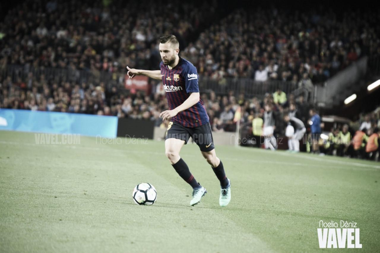 """Jordi Alba: """"Debemos intentar mantener el ritmo de la primera parte los 90 minutos"""""""