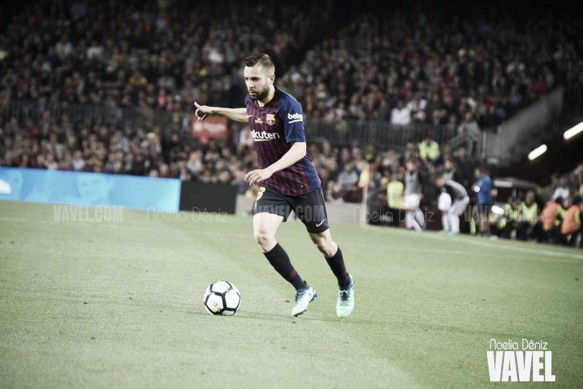 """Jordi Alba: """"Mi intención es renovar con el Barça"""""""