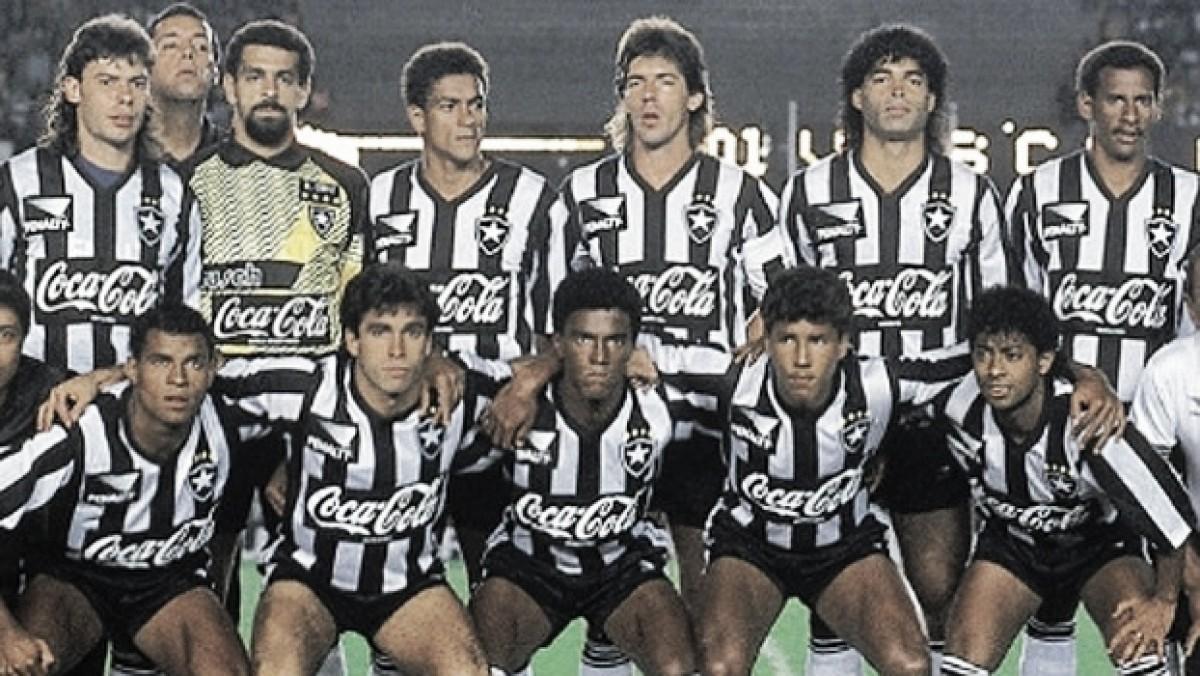 Em final marcada por duas voltas olímpicas, Botafogo vence Vasco e é bicampeão carioca em 1990