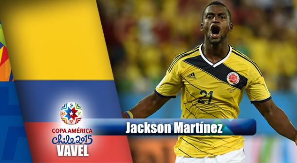 Camino a Chile 2015: Jackson Martínez